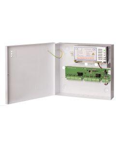 interlock controller met 24V=, 3Amp. netvoeding in plaatstalen kast