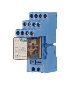 relais 24V~, 7 Amp.